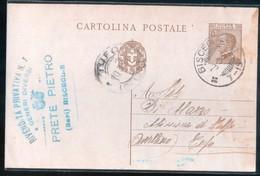 BISCEGLIE - 1931 - CARTOLINA COMMERCIALE - PRETE - Negozi