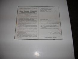 Richard  Dobbels (Meulebeke 1879-Meulebeke 1953)x Cleppe - Devotieprenten