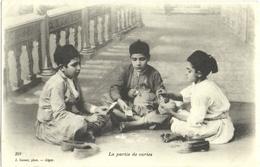 """CPA """"LA PARTIE DE CARTES""""  (ALGERIE) - Algérie"""