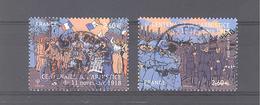 """France Oblitérés (les 2 Timbres Issus Du Bloc """"centenaire De L'armistice Du 11 Novembre 1918"""") (cachet Rond) - France"""