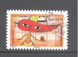 France Autoadhésif Oblitéré N°1454 (cachet Rond) - France