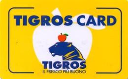 *ITALIA: TESSERA -  TIGROS* - Usata - Non Classificati