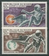 Niger 1968 Raumschiffe Gemini Und Woschod Astronauten 118/19 Postfrisch - Niger (1960-...)