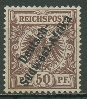 Deutsch-Südwestafrika 1897 Krone/Adler Mit Aufdruck II Ungebraucht Ohne Gummi - Kolonie: Deutsch-Südwestafrika