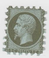 PIQUAGE. EMPIRE 1c. N° 11 - 1853-1860 Napoleon III