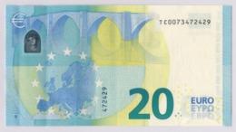 20 EURO IRELAND DRAGHI T002 B1 UNC - EURO