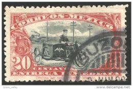 608 Mexico 1923 Motorcycle Moto (MEX-218) - Motos