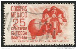 608 Mexico 1950 Motorcycle Moto (MEX-226) - Motos