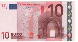 "10 EURO  ""X"" Germany  Firma Duisenberg     R 010 H4    X11  /  FDS - UNC - EURO"