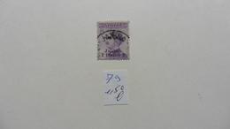 Italie > Bureaux Etrangers > Levant :timbre N° 79  Oblitéré - Bureaux Etrangers