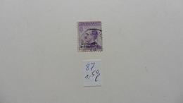 Italie > Bureaux Etrangers > Levant :timbre N° 87  Oblitéré - Bureaux Etrangers