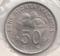 @Y@   Maleisie  50 Sen  1990   (4454) - Malaysie