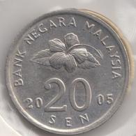 @Y@   Maleisie  20 Sen   2005    (4451) - Malaysie