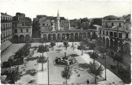 CPSM DE BÔNE-ANNABA  (ALGERIE)  LA PLACE D'ARMES - Annaba (Bône)