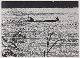 VISAGE DU NIGER - COUCHER DE SOLEIL SUR LE FLEUVE - Ed. ONT - Cliché J.M. Bertrand - Niger