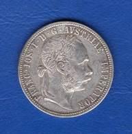 Autriche  Florin  1887  Arg - Autriche
