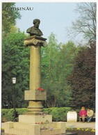 Moldova  Moldawien   Moldau   1990  ;  Chisinau , Monument To A.S.Pushkin , Postcard - Moldova