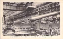INDUSTRIE - 71 LE CREUSOT - USINES SCHNEIDER N° 40 - Canon De 320 M/m Affût à Pivot Central - CPA Usine Entreprise - Industrie