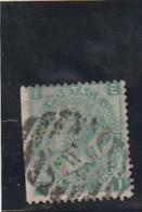 GRANDE BRETAGNE  N°37   1 Sc  Vert   --- Côte 30€ - Oblitérés