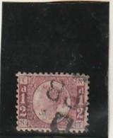 GRANDE BRETAGNE  N°  49 1/2 Rouge    --- Côte 20€ - 1840-1901 (Victoria)