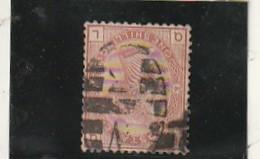 GRANDE BRETAGNE  N° 66  One Sc Brun Rouge     --- Côte 150€ - Used Stamps