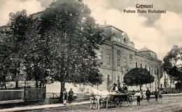 COTMANI / COZMENI / KOTZMAN / КIЦМАНЬ : PRETURA (FOSTA PREFECTURA) - ANNÉE / YEAR : 1928 - RRR !!! (aa467) - Ukraine