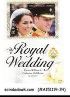 ST. KITTS - 2011 THE ROYAL WEDDING-PRINC WILLIAM - MIN. SHEET - MINT NH - Feste