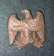 """Relique Napoléonienne Empire """"Aigle Impériale Pour  La Médaille Des Véterans Debris De La Grande Armée De Napoléon Ier"""" - Heer"""
