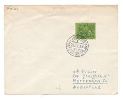 1954 Portugal To Nederland, AUTO AMB, AMBULANCIA Postmark, Envelope/letter - BLAMB - BL-26 - Interi Postali
