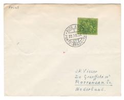 1954 Portugal To Nederland, AUTO AMB, AMBULANCIA Postmark, Envelope/letter - BLAMB - BL-27 - Interi Postali