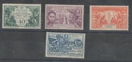SERIE OUBANGUI-CHARI  AVEC CHARNIERE PROPRE - 1931 Exposition Coloniale De Paris