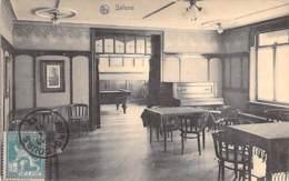 BILLARD Billiards ( BELGIQUE Belgie ) BONSSECOURS : Institut Dr VOET - Salons- CPA 1913 Biljart Billar Biliardo Bilhar - Cartes Postales