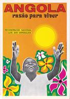 PROPAGANDE / PROPAGANDA : MOVIMENTO POPULAR DE LIBERTAÇAO DE ANGOLA / MPLA / PARTIDO DO TRABALHO - 1978 (aa468) - Angola