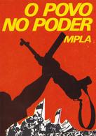 PROPAGANDE / PROPAGANDA : MOVIMENTO POPULAR DE LIBERTAÇAO DE ANGOLA / MPLA / PARTIDO DO TRABALHO - 1978 (aa470) - Angola