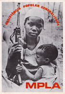 PROPAGANDE / PROPAGANDA : MOVIMENTO POPULAR DE LIBERTAÇAO DE ANGOLA / MPLA / PARTIDO DO TRABALHO - 1978 (aa471) - Angola
