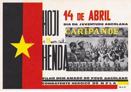 PROPAGANDE / PROPAGANDA : MOVIMENTO POPULAR DE LIBERTAÇAO DE ANGOLA / MPLA / PARTIDO DO TRABALHO - 1978 (aa474) - Angola