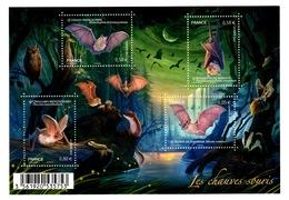 YV F4739 YV 4739 à 4742 N** Chauve-souris - Prix = Faciale - Unused Stamps