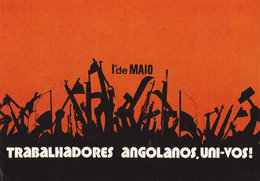 PROPAGANDE / PROPAGANDA : MOVIMENTO POPULAR DE LIBERTAÇAO DE ANGOLA / MPLA / PARTIDO DO TRABALHO - 1978 (aa479) - Angola