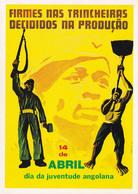 PROPAGANDE / PROPAGANDA : MOVIMENTO POPULAR DE LIBERTAÇAO DE ANGOLA / MPLA / PARTIDO DO TRABALHO - 1978 (aa483) - Angola