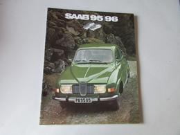 Brochure ; SAAB 95 / 96 - Auto/Motorrad