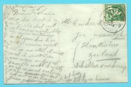 110 Op Kaart OOSTENDE 2 Op 9/10/1914 (Offensief W.O.I)(OKTOBER 1914)!! - WW I