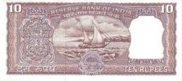 INDIA P.  58 10 R 1967 UNC - India