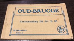 Brugge  Bruges Oud Brugge  Tentoonstelling XII 24 II 25  Zichtkaarten Boekje Met 12 Postkaarten          I 5354 - Brugge