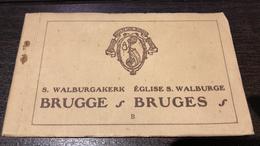 Brugge  Bruges   Sint Walburgakerk  église Sainte Walburge  Kerk  Zichtkaarten Boekje Met 12 Postkaarten          I 5355 - Brugge