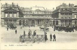 PARIS 4 -- Le Conseil D'Etat          --- LL 204 - Arrondissement: 04