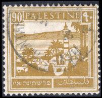 Palestine 1927-45 90m Bistre Fine Used. - Palestine