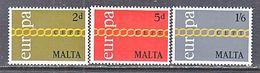 MALTA  425-7    **  EUROPA - Malta
