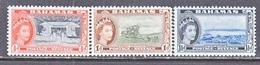 BAHAMAS  158-60   **  Q E II - Bahamas (...-1973)