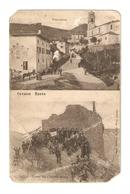 CT--02747-- CAVASSO NUOVO(PORDENONE) 2 IMMAGINI-PANORAMA E RUINE DEL CASTELLO MIZZA-NON VIAGGIATA - Italia