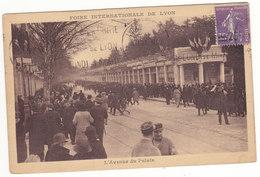 Prix Fixe - Lyon - 1927 - Avenue Du Palais - Foire Internationale  # 9-12/1 - Lyon
